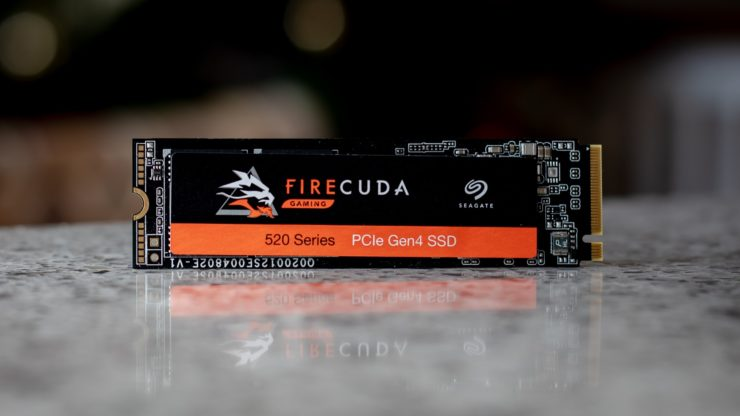 Seagate Firecuda SSD Review - STG