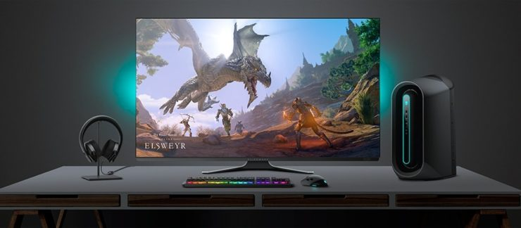 Alienware 55 OLED 4K Gaming Monitor - AW5520QF | Dell USA