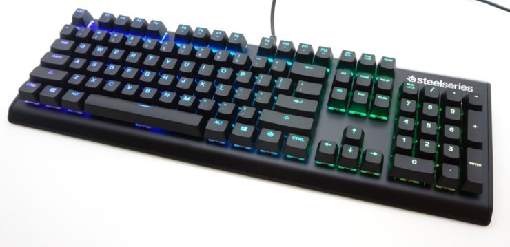 The SteelSeries Apex M750 Mechanical Keyboard - The SteelSeries Apex M750 Mechanical Gaming Keyboard Review: Set Apart by Software