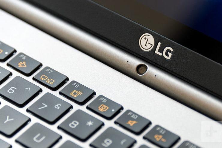 LG Gram PC 2017 webcam