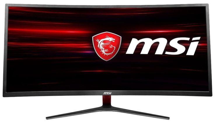 """Монитор MSI Optix MAG341CQ 34"""", черный"""