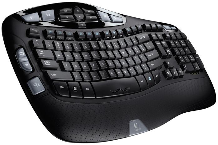 Игровая клавиатура Logitech Wireless Keyboard K350 Black USB