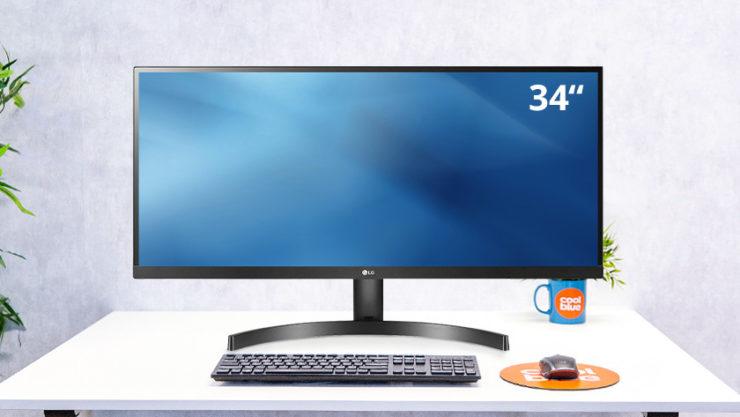 34-inch ultra wide screen