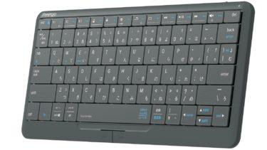 Смарт-гаджет Prestigio Click&Touch 2 совмещает в себе клавиатуру, тачпад и мышь