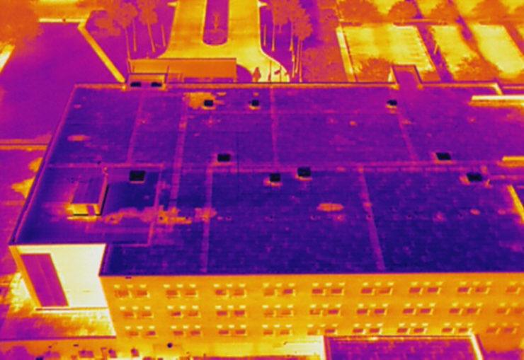 Drones used by roof inspectors for 'faster and more efficient' inspections
