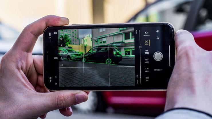 Как включить ручные настройки камеры на Apple iPhone