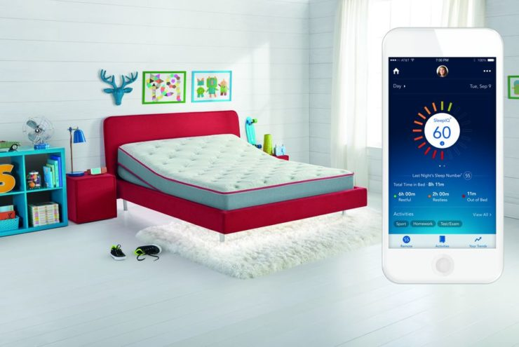 Sleep Number adds a smart bed for kids - CNET