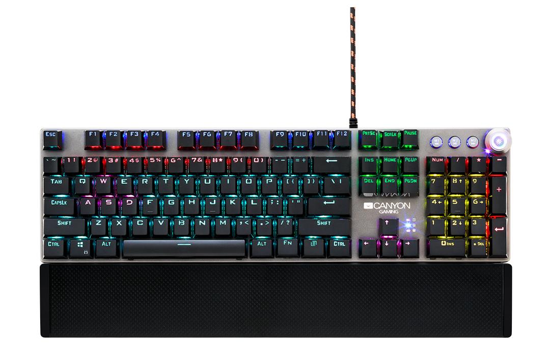 Клавиатуры Canyon