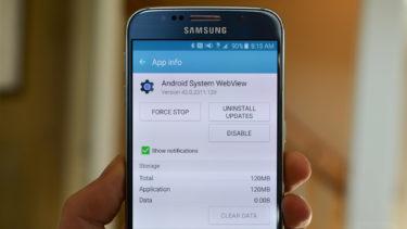 Как включить Android WebView