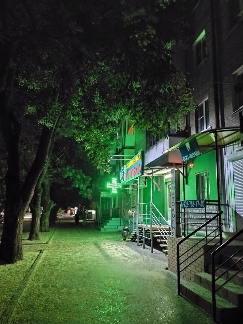 Ночная съемка