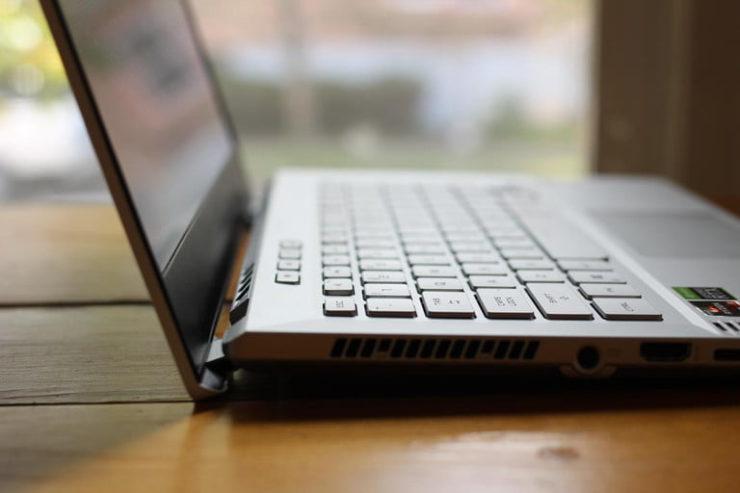 ROG Zephyrus keyboard.