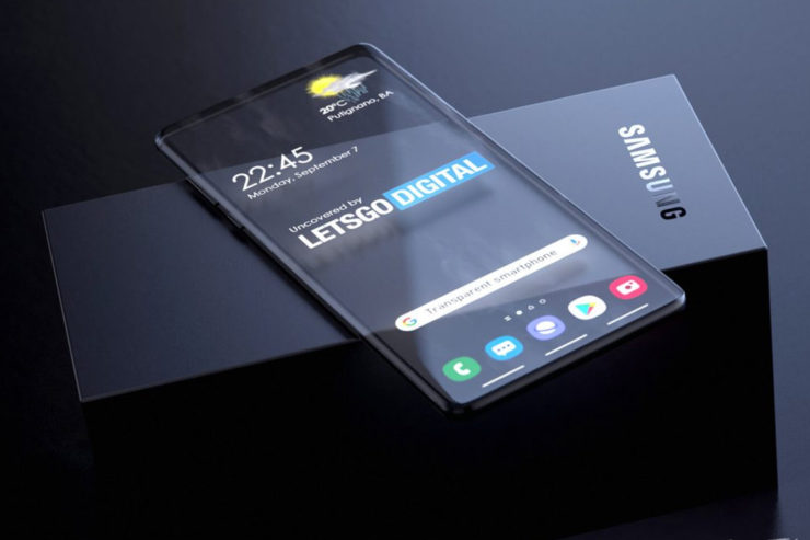 Samsung's transparent phone & more innovative concepts that prove they are the technology trendsetters! | Yanko Design