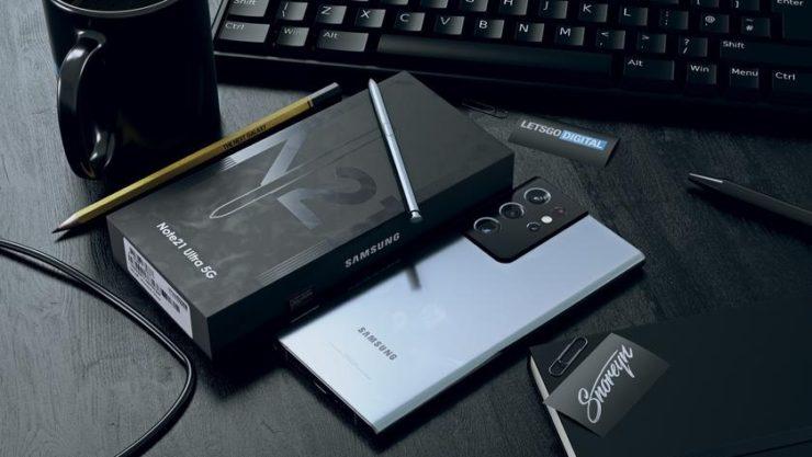 Так может выглядеть Samsung Galaxy Note 21 Ultra - Rozetked.me