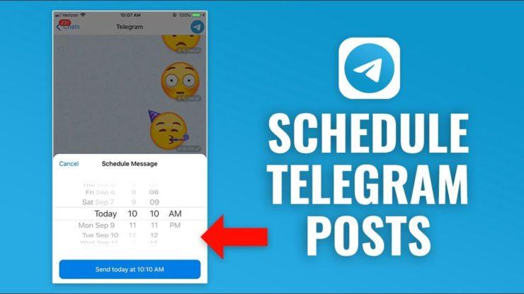 How to Make a Scheduled Message in Telegram - t9gram.com
