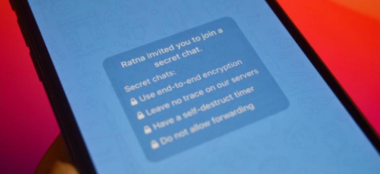 Как начать зашифрованный секретный чат в Telegram - Cpab