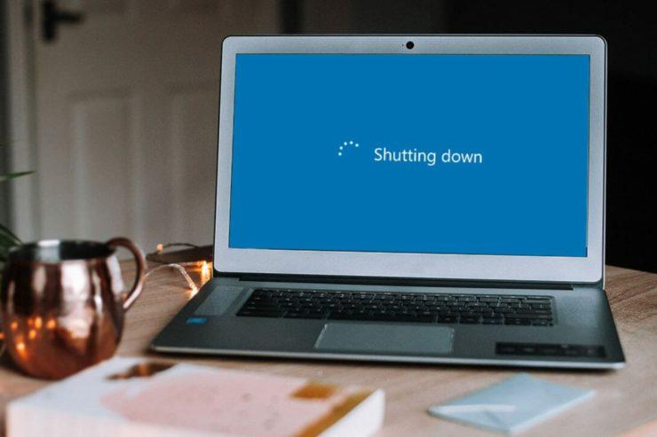 computer randomly shutting down