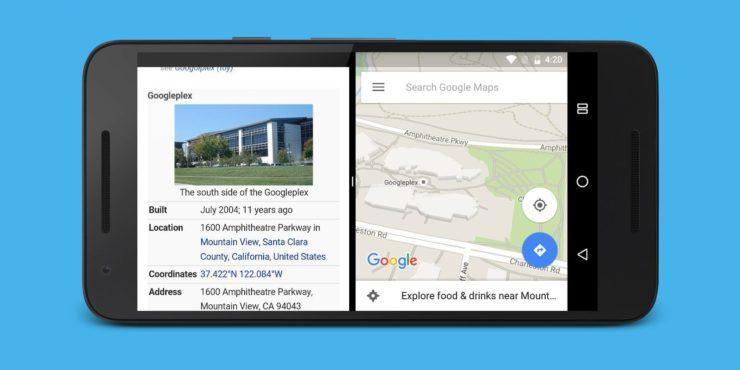 Пример разделения экрана на 2 части на Android