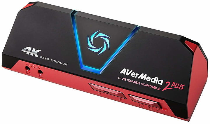 AverMedia Live Gamer Portable 2 Plus capture card.