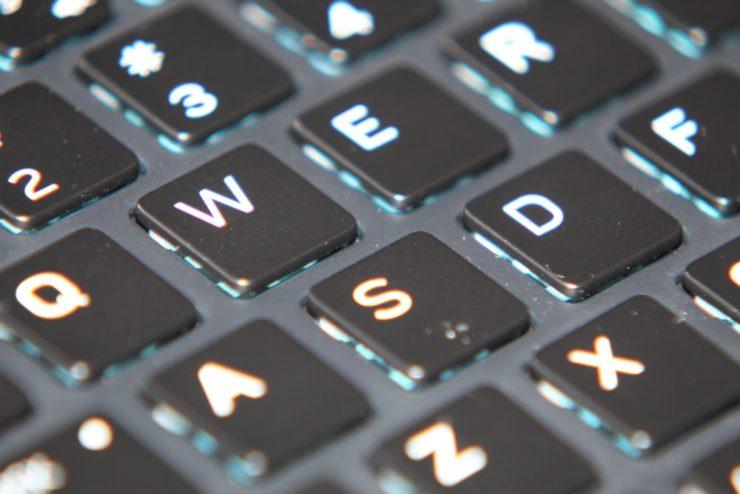 macro photography of laptop keyboard photo – Free Grey Image on Unsplash
