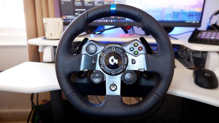 Logitech G923 racing wheel review | PC Gamer