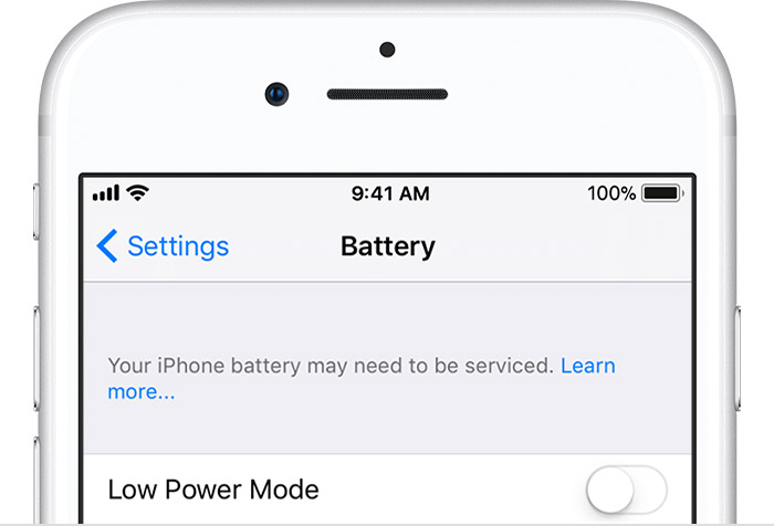 If you see 'Your iPhone battery may need to be serviced' - Apple Support (MY)