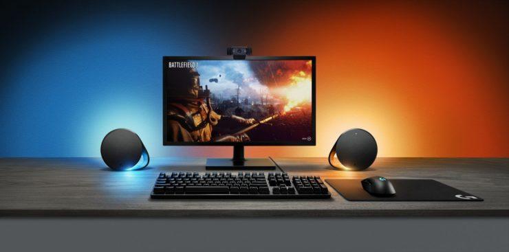 Logitech G560 Lightsync speakers review   PC Gamer