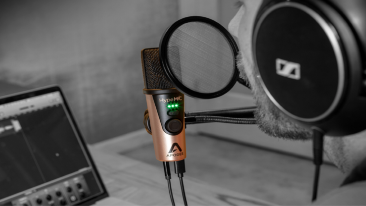 NAMM 2019: Apogee Releases its HypeMic All-In-One USB Microphone
