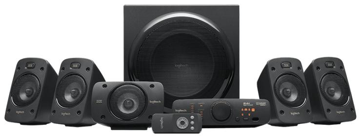 Компьютерная акустика Logitech Z906 черный