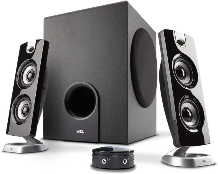 Cyber Acoustics CA-3602 2.1 best budget computer speaker system