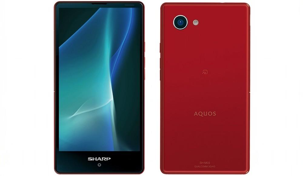 Aquos Mini: Необычный смартфон от Sharp