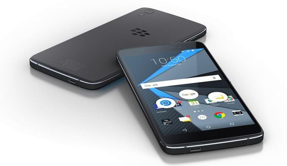 BlackBerry анонсировала Android-смартфон DTEK50