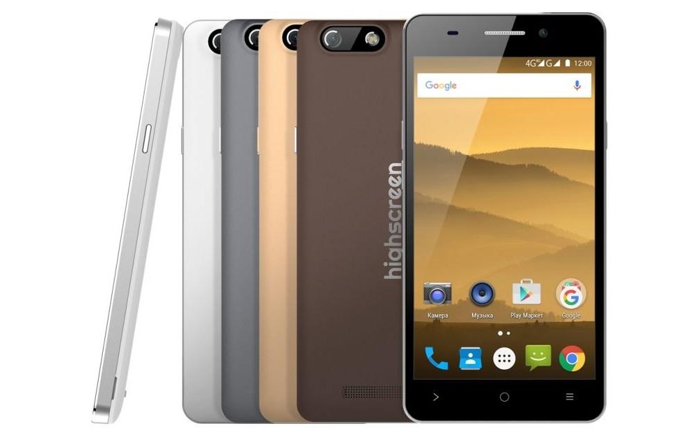 Смартфон Highscreen Power Five EVO получил батарею на 5000 мАч