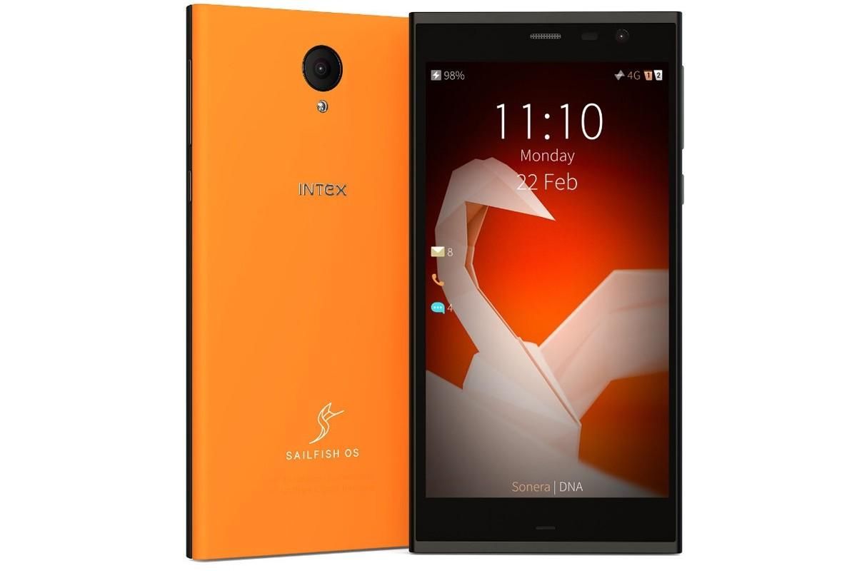 Начались продажи смартфона Intex Aqua Fish на базе Sailfish OS 2.0