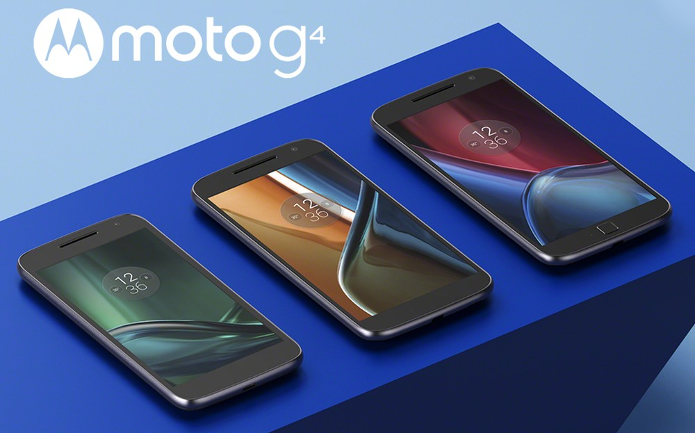 Анонсированы смартфоны Moto G4, Moto G4 Plus и Moto G4 Play
