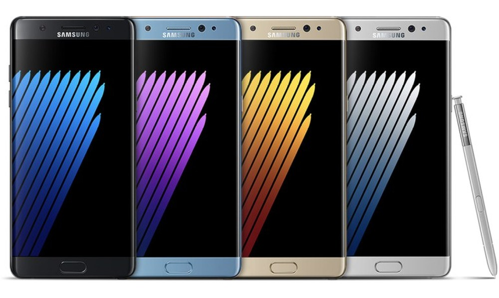 Анонсирован смартфон Samsung Galaxy Note7