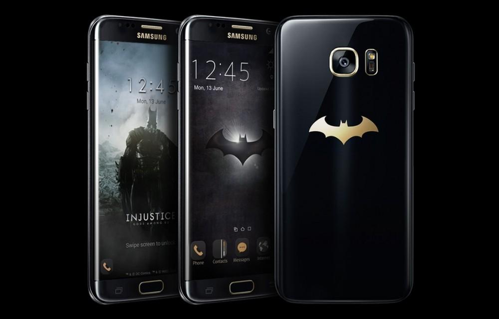 Samsung Galaxy S7 edge Injustice Edition: Супергеройский смартфон