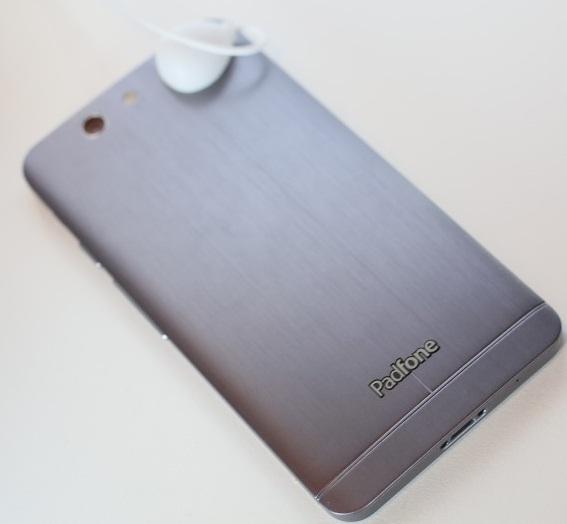 Asus PadFone Infinity: тыльная сторона