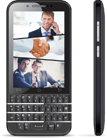 BQ Berkeley: доступный QWERTY-смартфон