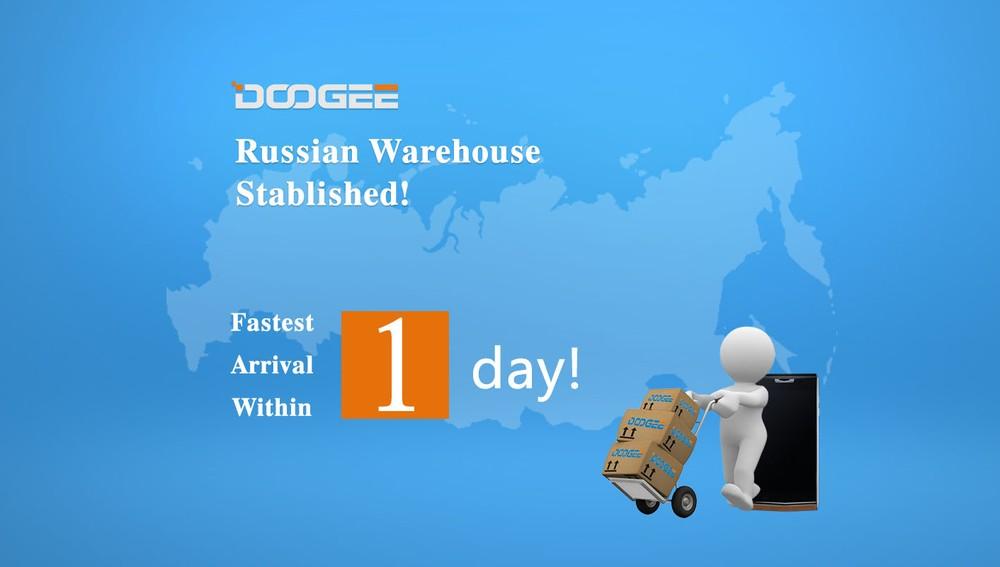 Doogee приходит в Россию