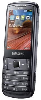 Фронтальный вид Samsung C3782 Evan