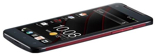 HTC Butterfly: вид сбоку