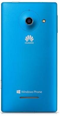 Huawei Ascend W1: тыльная сторона