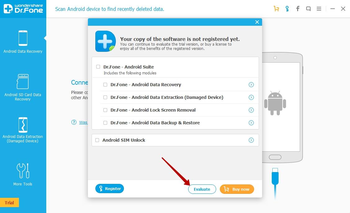 Android data recovery восстановление на смартфоне