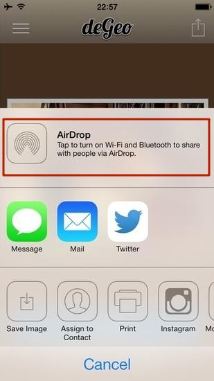 Air drop от apple как работает