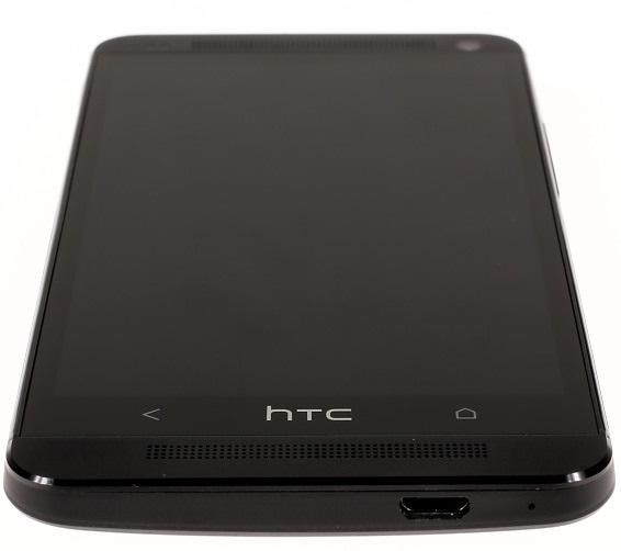 Нижний торец HTC One