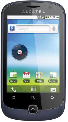Смартфон Alcatel One Touch 990 SMART
