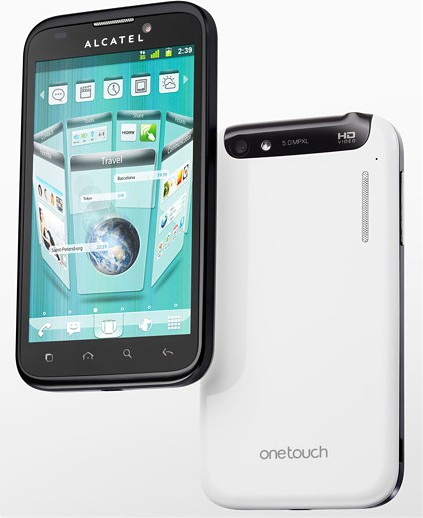Смартфон Alcatel One Touch 995 ULTRA