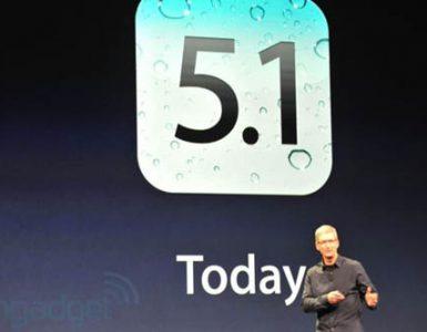 Операционная систему iOS 5.1