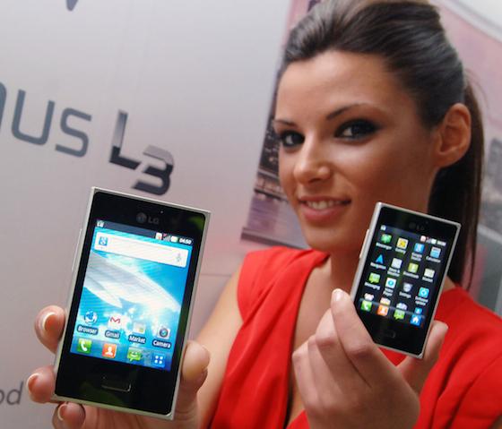 Релиз смартфона LG Optimus L3