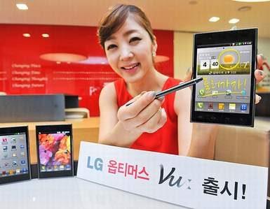 Плашет-смартфон LG Optimus Vu